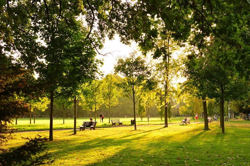 Courir au parc de la Tête d'Or à Lyon
