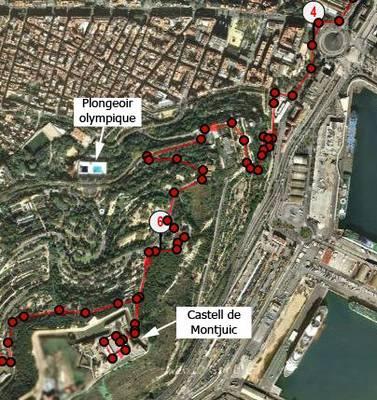 Partie 3 du parcours à Barcelone