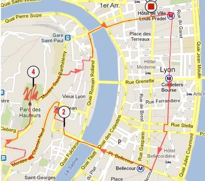 Parcours pour découvrir les quartiers historiques de Lyon