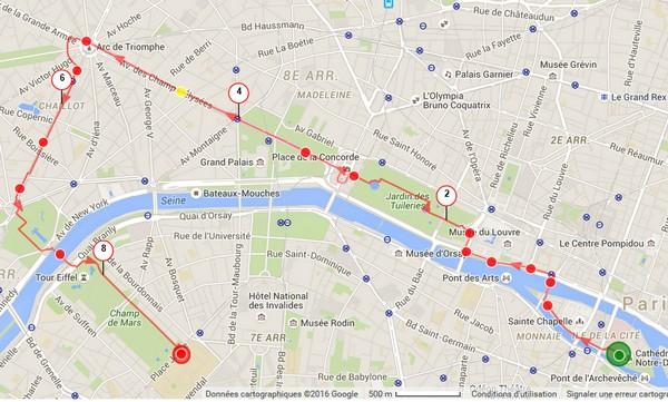 Visite touristique de Paris et ses monuments