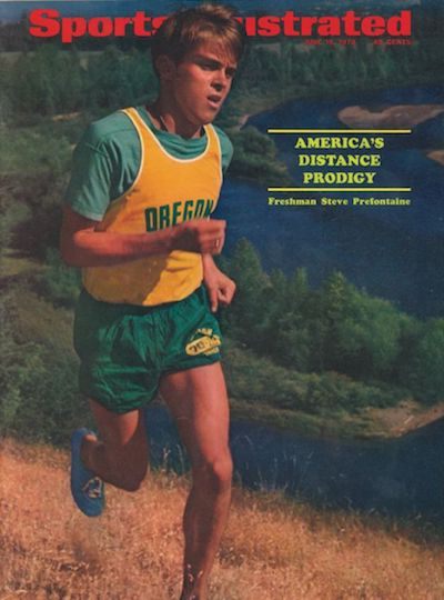 Une de Sports Illustrated avec Steve Prefontaine