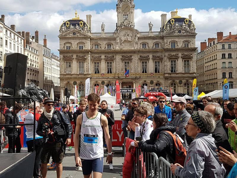 Le Lyon Urban Trail, LUT, vu par Romain, vainqueur du 8km