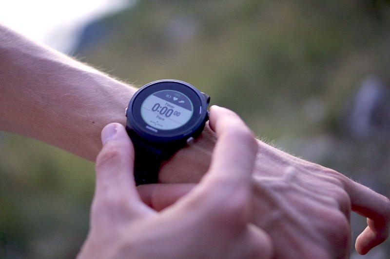 montre gps frequence cardiaque
