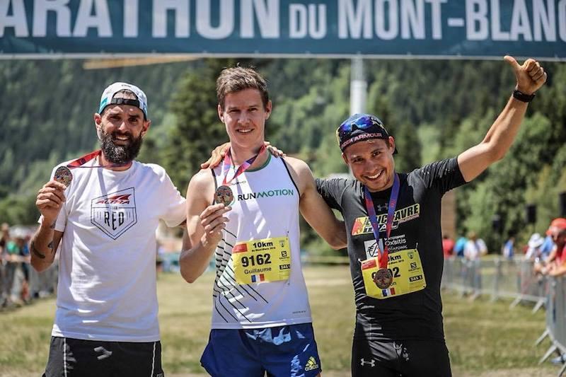 Marathon du Mont-Blanc - podium 10km