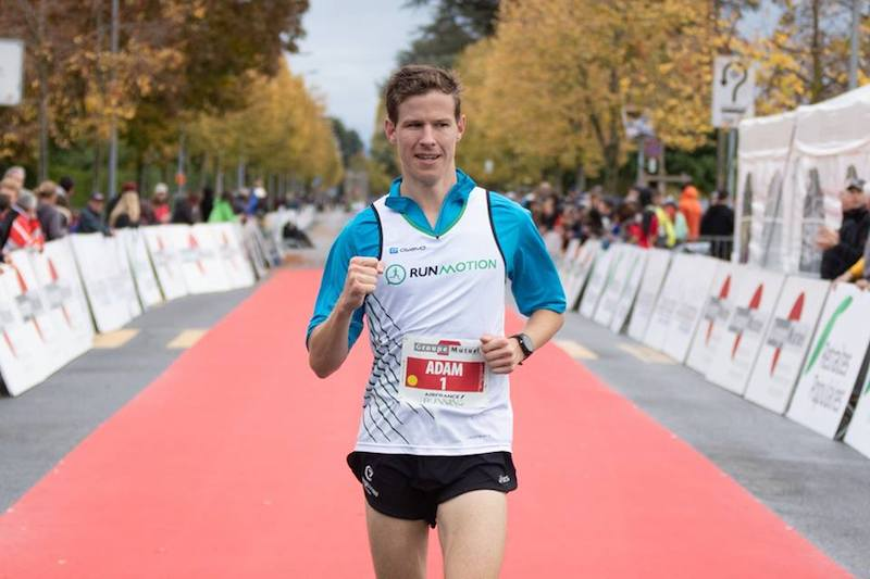 Finisher du marathon de Lausanne