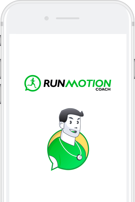 Application running RunMotion Coach
