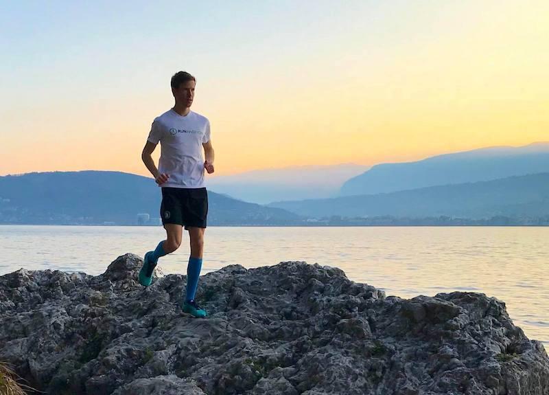 Courir à Aix-les-Bains entre lac et Montagne