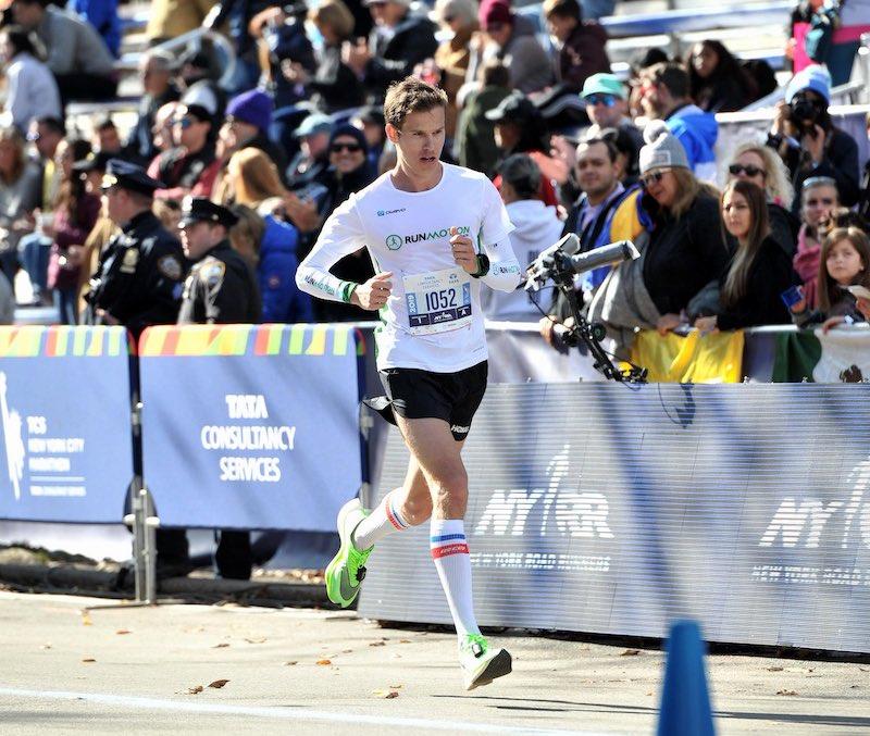 Arrivée du Marathon de New York à Central Park