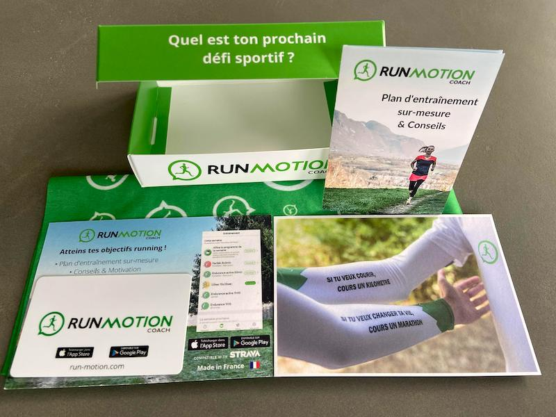 box cadeau coureur RunMotion Coach