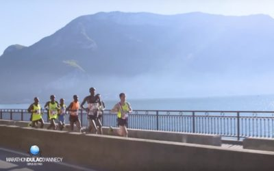 Le Marathon du Lac d'Annecy offre un parcours de rêve !