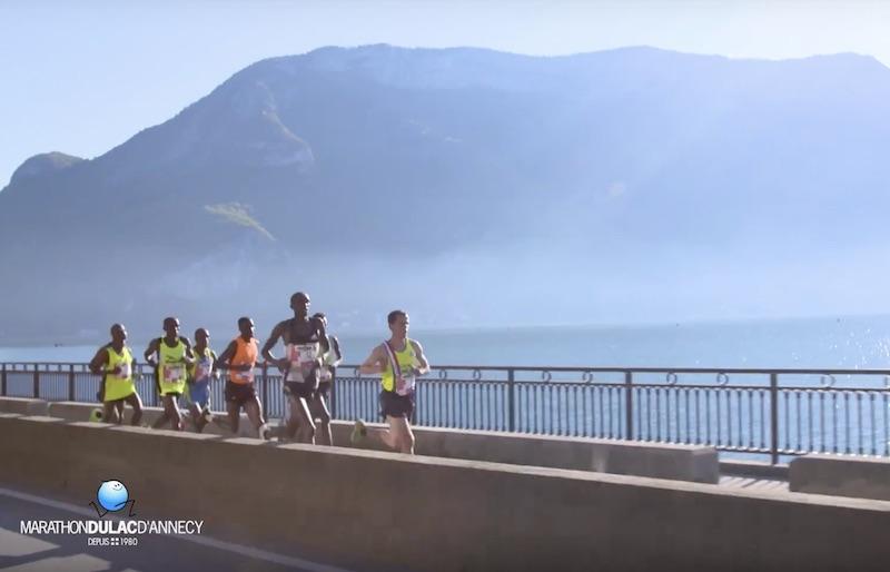 Annecy et son marathon offrent un parcours idéal !