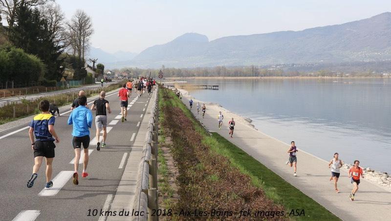 10km Grand Lac Aix-les-Bains