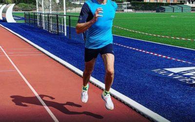 Frédéric retrouve de bonnes sensations et bat son RP sur 10km