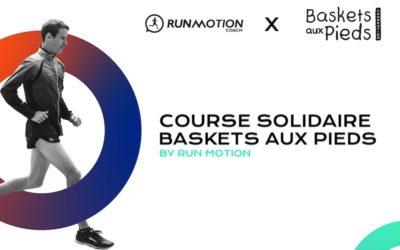 Course Solidaire Baskets Aux Pieds by RunMotion : Parcourir la plus grande distance en 1h