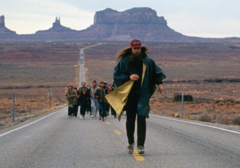 Forrest Gump termine sa traversée des Etats-Unis