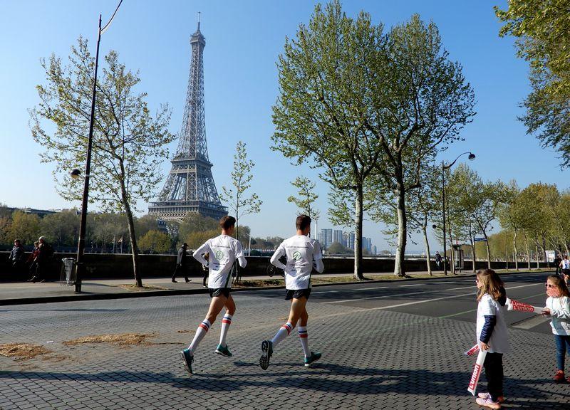 Marathon de Paris plan d'entrainement tour eiffel