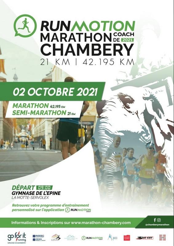 RunMotion Coach Marathon de Chambéry